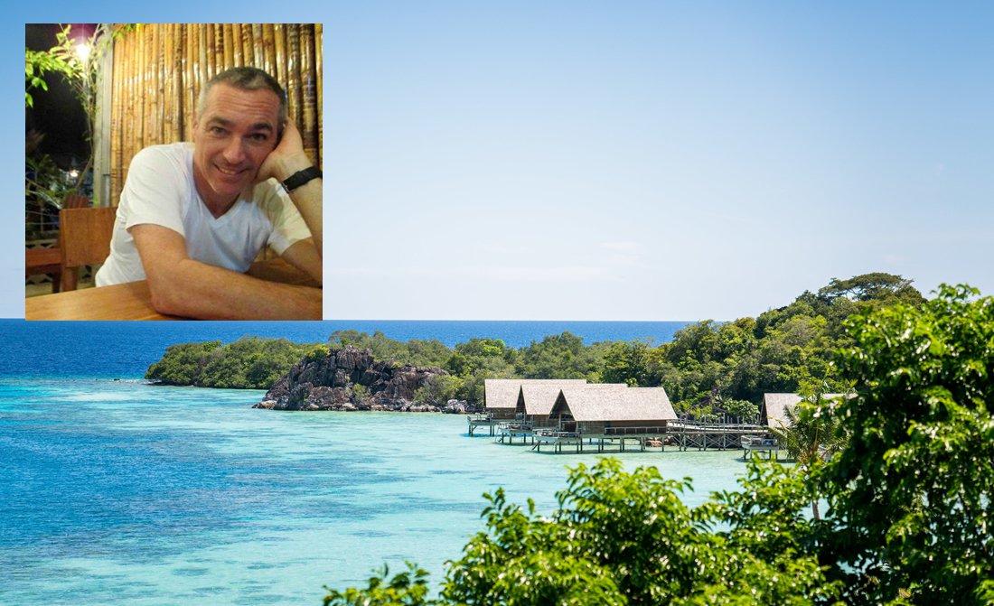 Bawah Island General Manager Tom Blachere