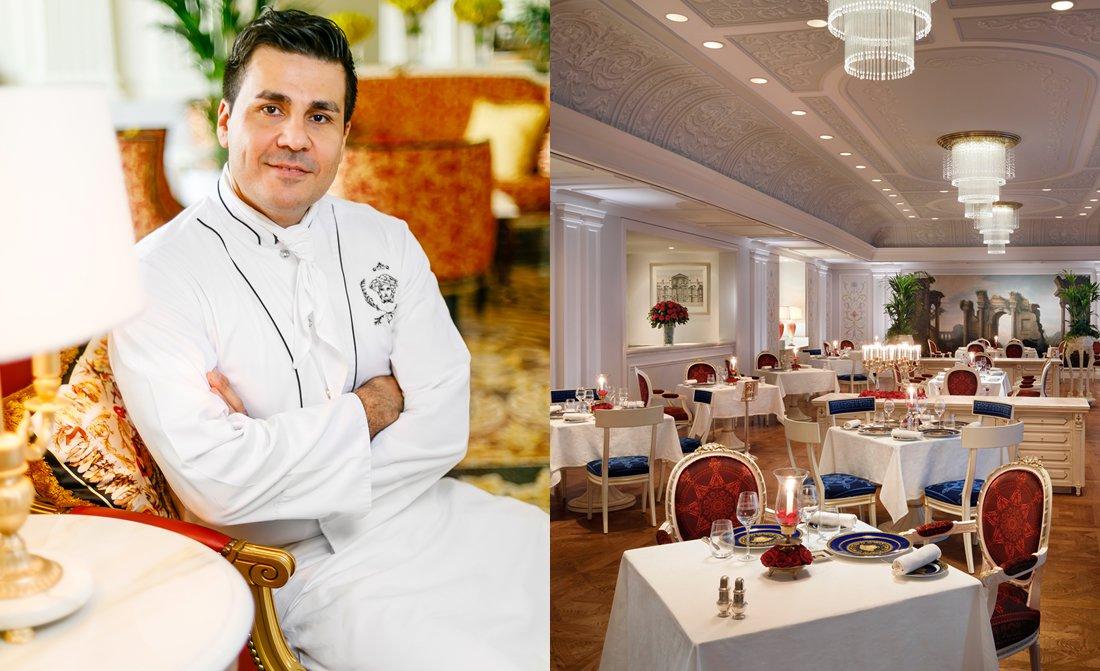 Chef Mansour Memarian Palazzo Versace Dubai