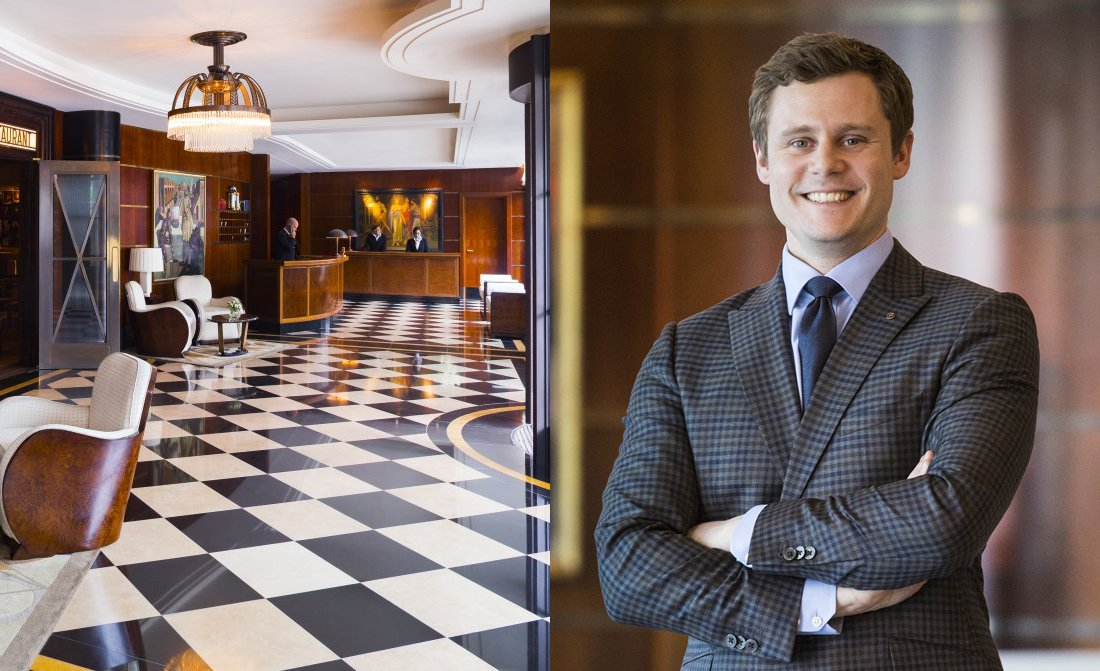 The Beaumont London General Manager Jannes Soerensen