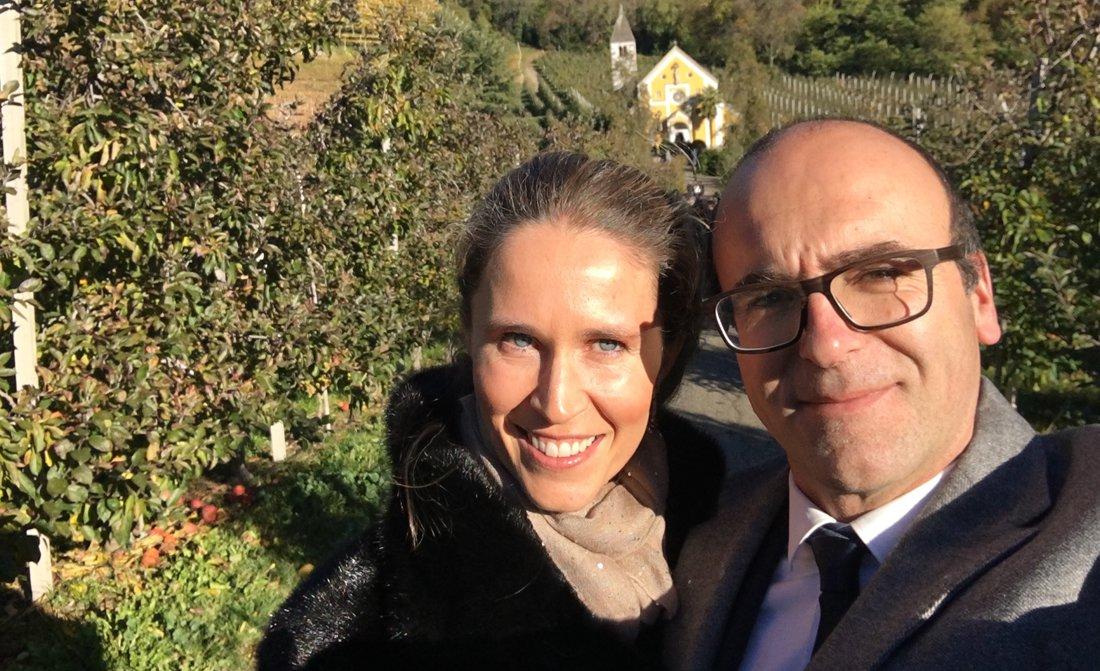 Ursula Mahlknecht Pizzinini And Hugo Pizzinini Rosa Alpina
