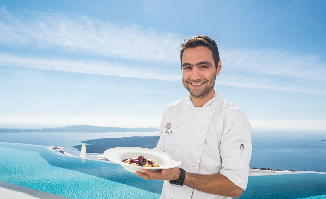 Grace Santorini And Mykonos Executive Chef Spyros Agious