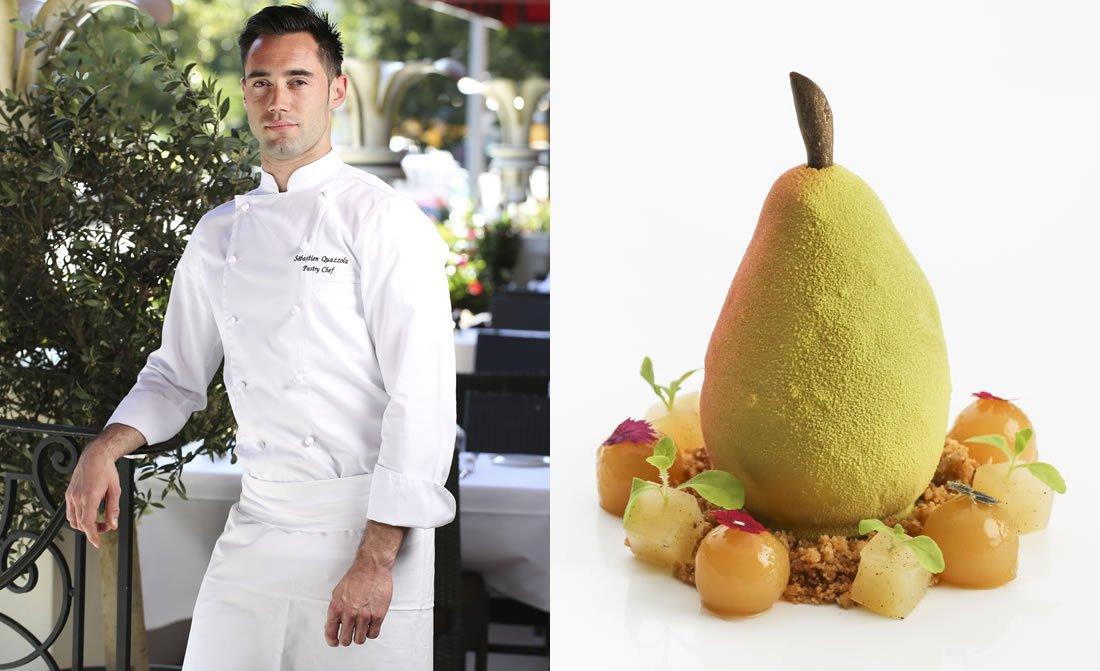 Pastry Chef Sebastien Quazzola Le Richemond Geneve