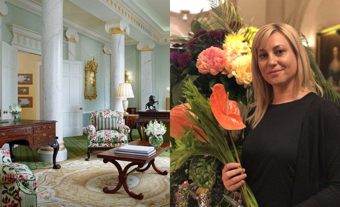 The Lanesborough Florist Annamaria Gonda