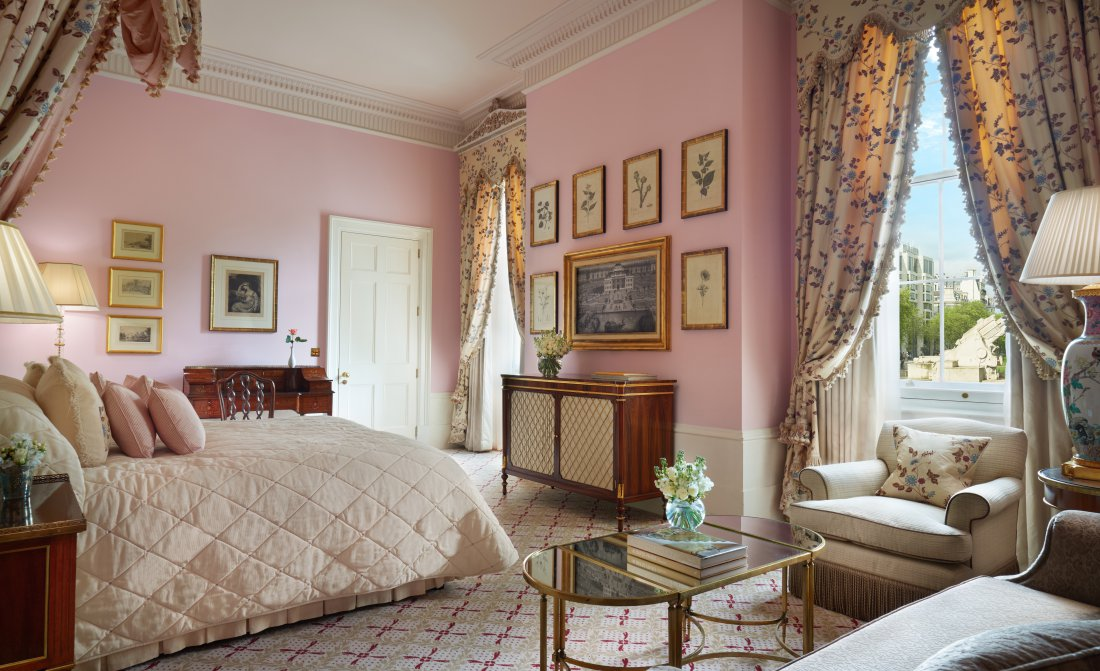 Presidential Suite Room 118 Bedroom 1 Insta