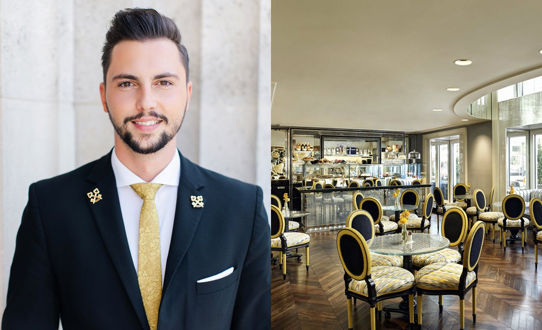 Martin Wenig Head Concierge At Park Hyatt Vienna