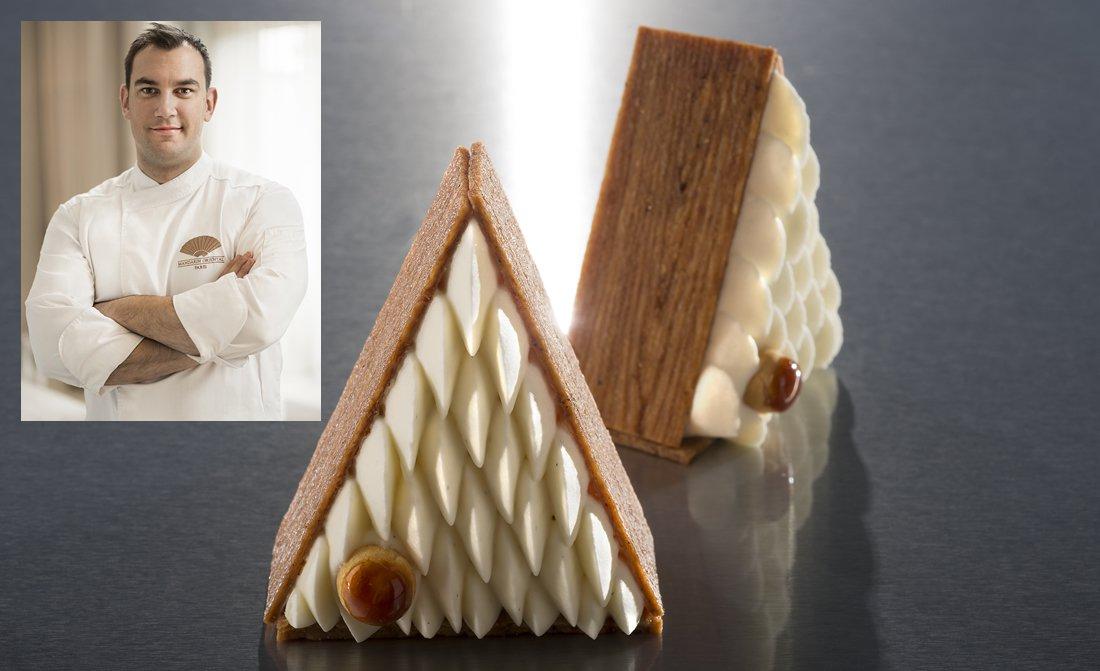 Adrien Bozzolo Pastry Chef Mandarin Oriental Paris