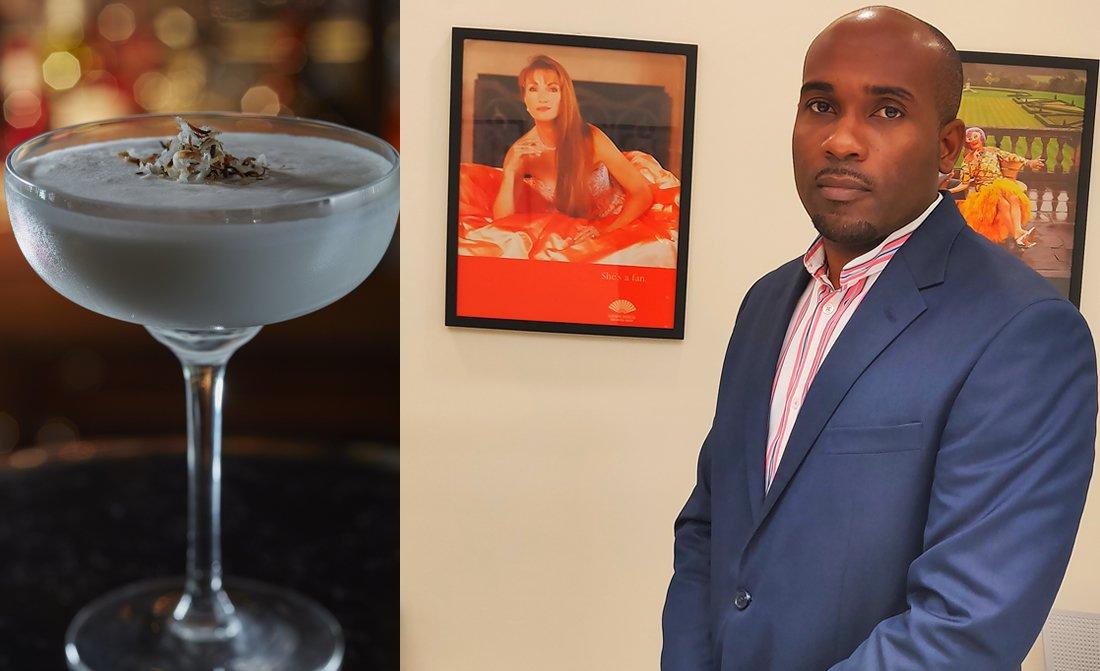 Mandarin Oriental Canouan Bar Manager Rohan Hickshaw