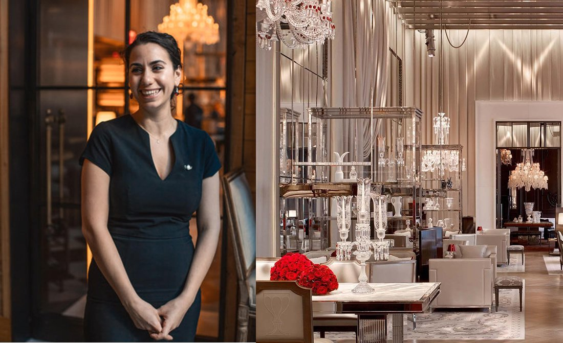 Gabrielle Jammal Tea Sommelier At Baccarat Hotel Residences New York
