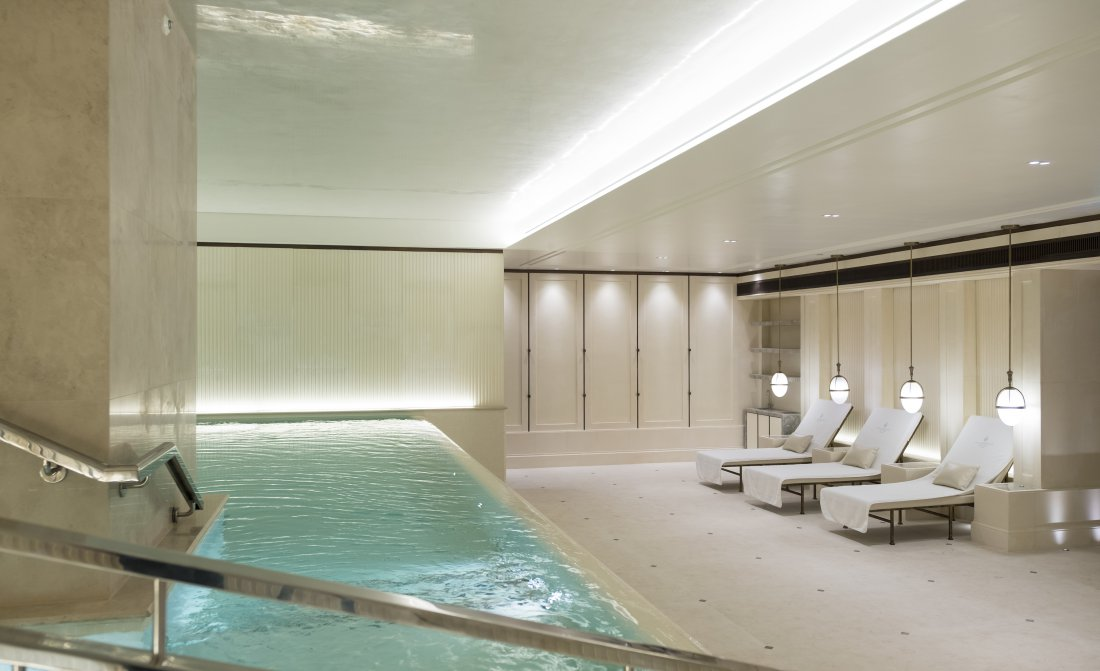 Lanesborough Club Spa Room Hydro Pool