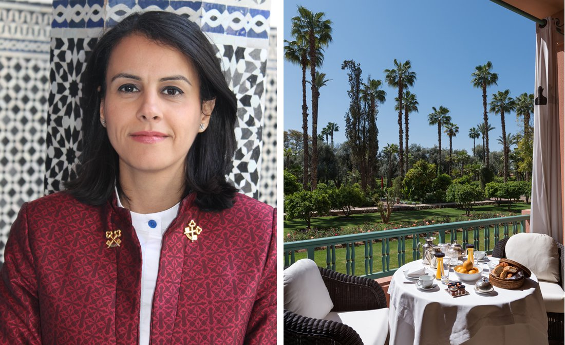 Zineb Meliani Chef Concierge At La Mamounia Hotel In Marrakech