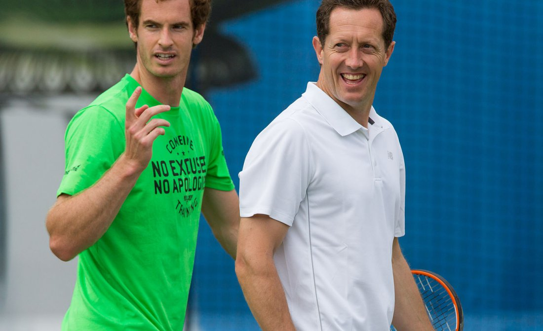 Jonas Bjorkman Andy Murray