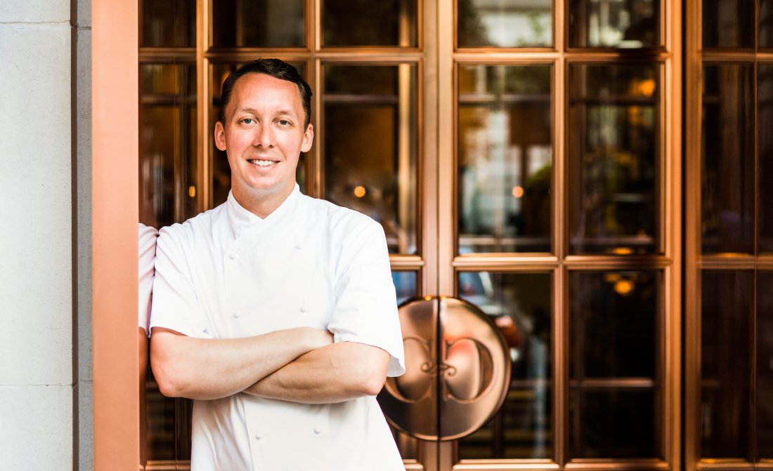 Calum Franklin Executive Head Chef Rosewood London
