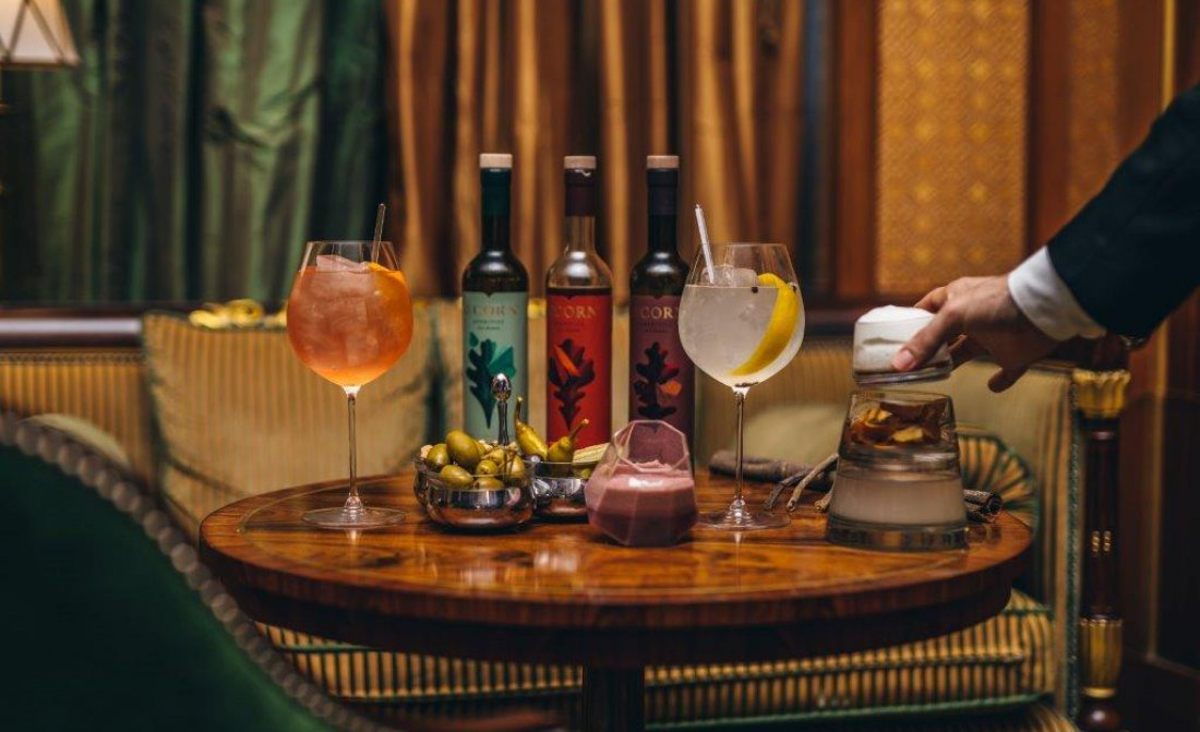 Library Bar The Lanesborough London Seedlip Collection Dry January 9