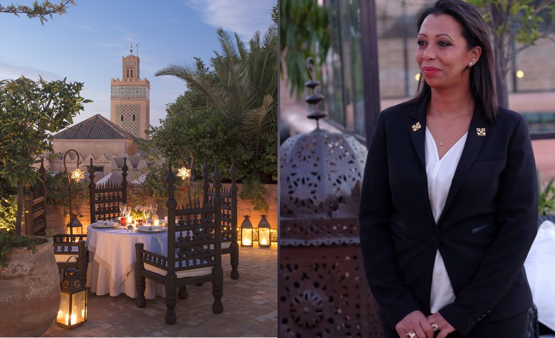 Saida Loutou Concierge Of La Sultana Marrakech