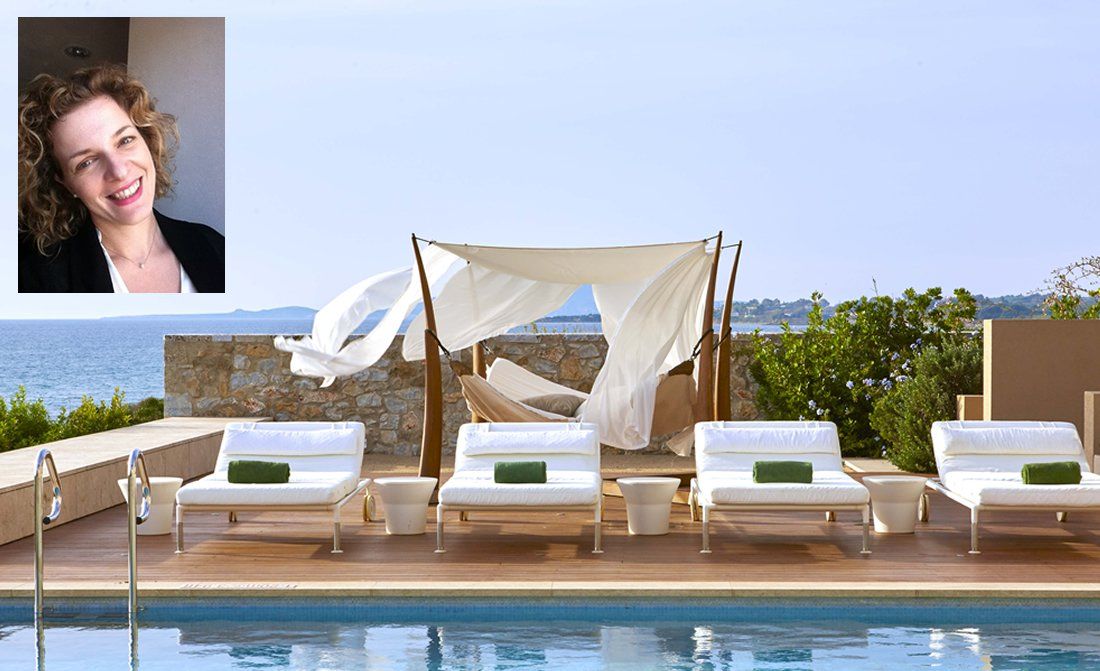 Natasa Glaraki Guest Experience Manager The Romanos Resort Luxury Collection