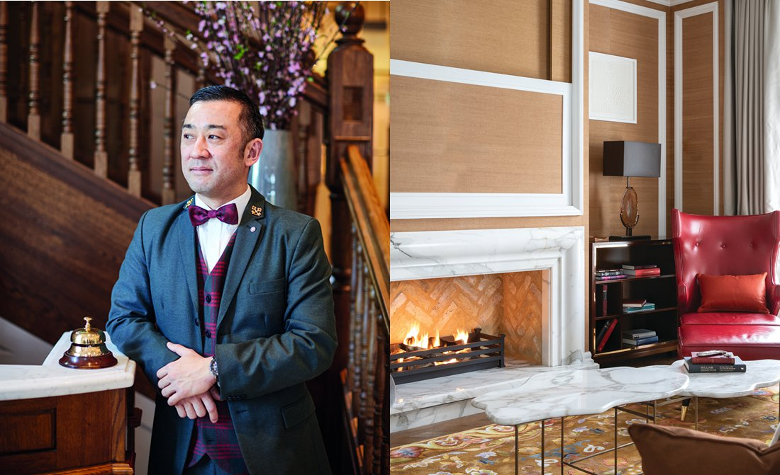 Toru Machida Interview With Head Concierge At Belmond Cadogan Hotel