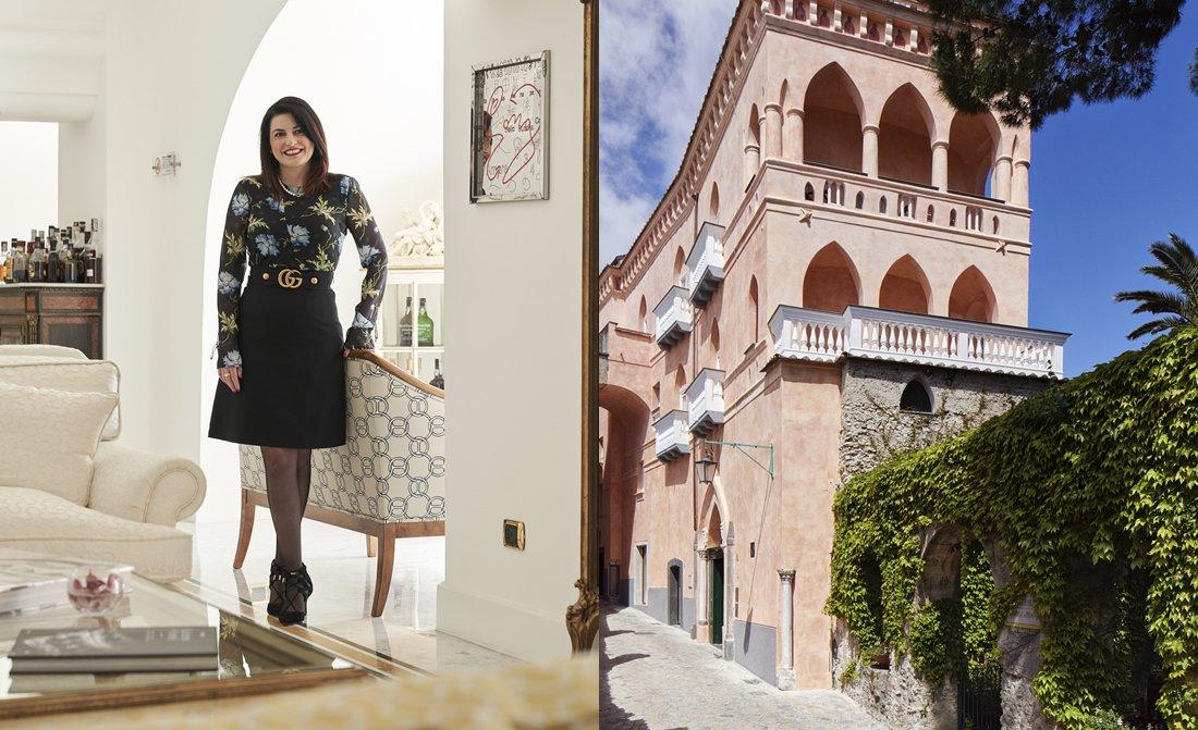Mariella Avino Managing Director Palazzo Avino In Ravello