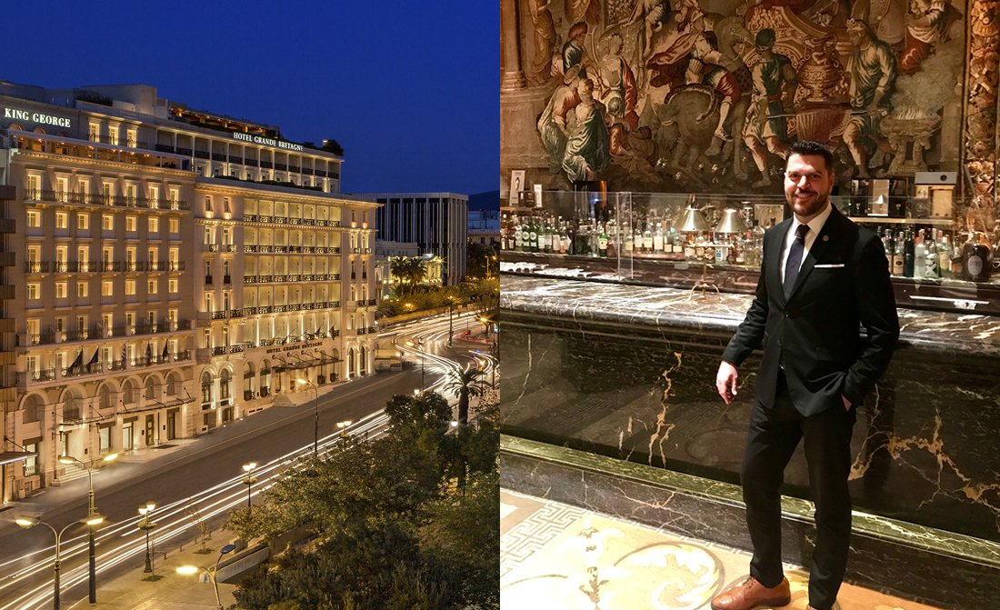 Theodore Katis Cluster Account Director Leisure Grand Hotel Bretagne King George Luxury Collection Athens