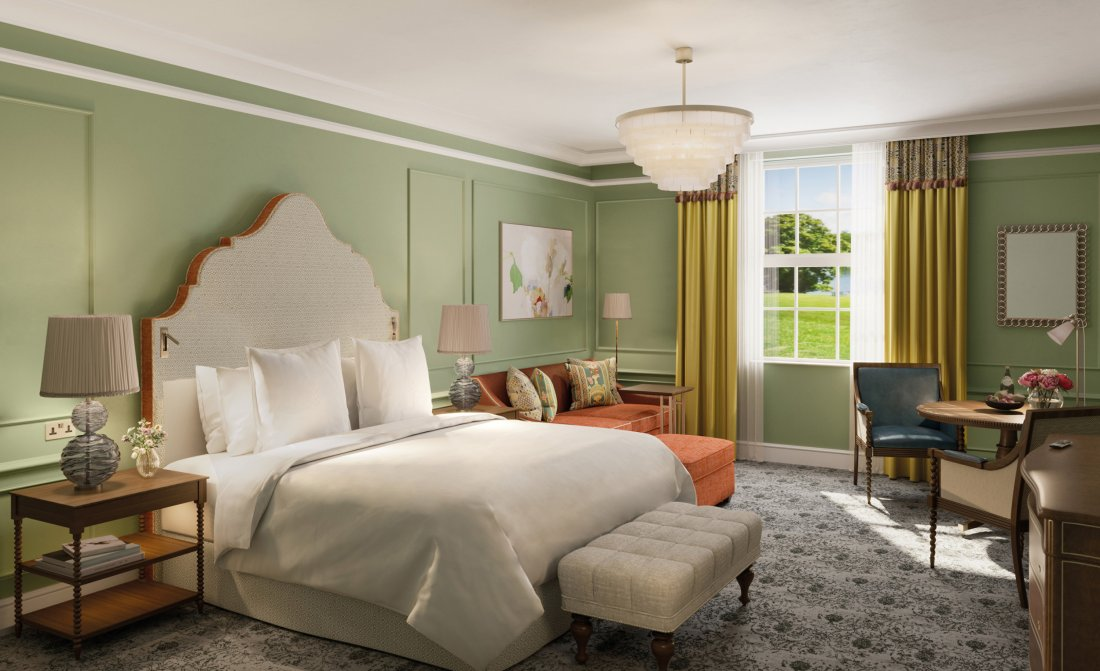 Four Seasons Hotel Hampshire Redesigned Rooms And Suites
