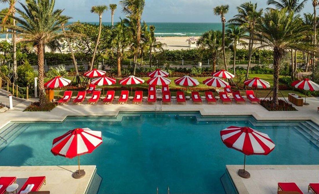 Faena Hotel Miami Beach Pool View