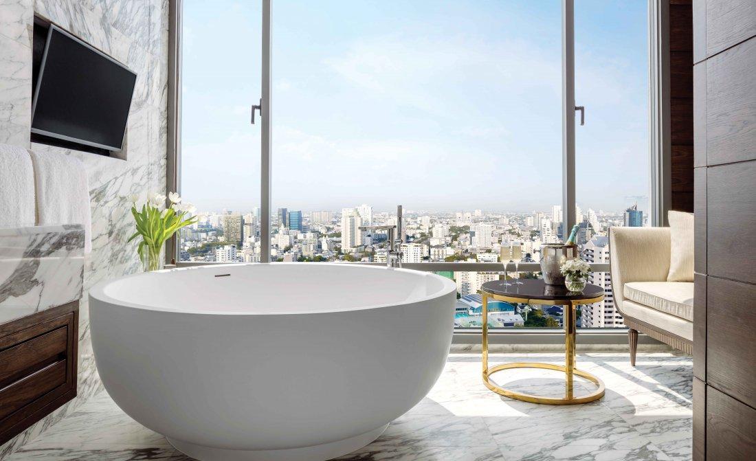 01 Sukhothai Suite Bathroom