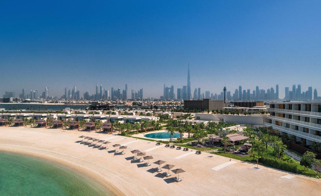 The Bvlgari Resort Dubai Beach By Day