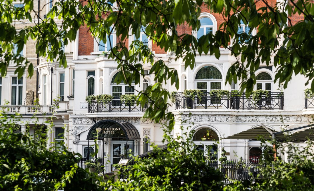 Baglioni Hotel London Exterior And Hyde Park