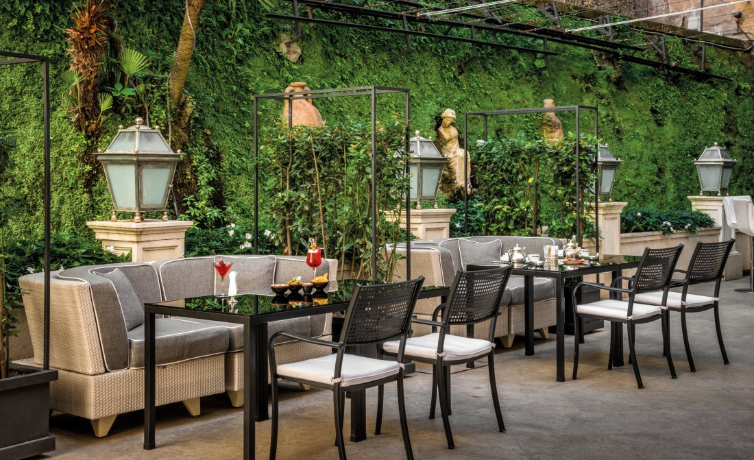 Hotel Hassler Roma Hassler Bistrot At Palm Court